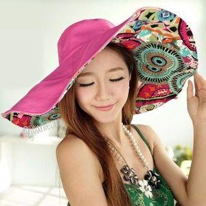 Accessories - PINK Reversable Sun Hat